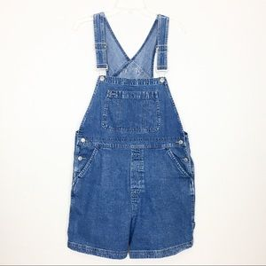 Gap Jean Short Overalls Size Large